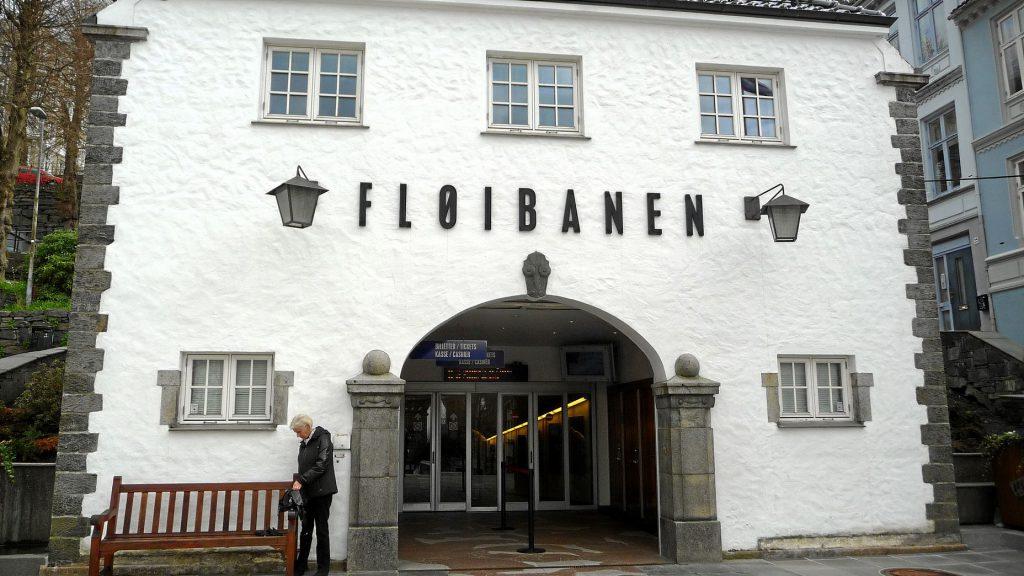 Die Fløibanen in Bergen