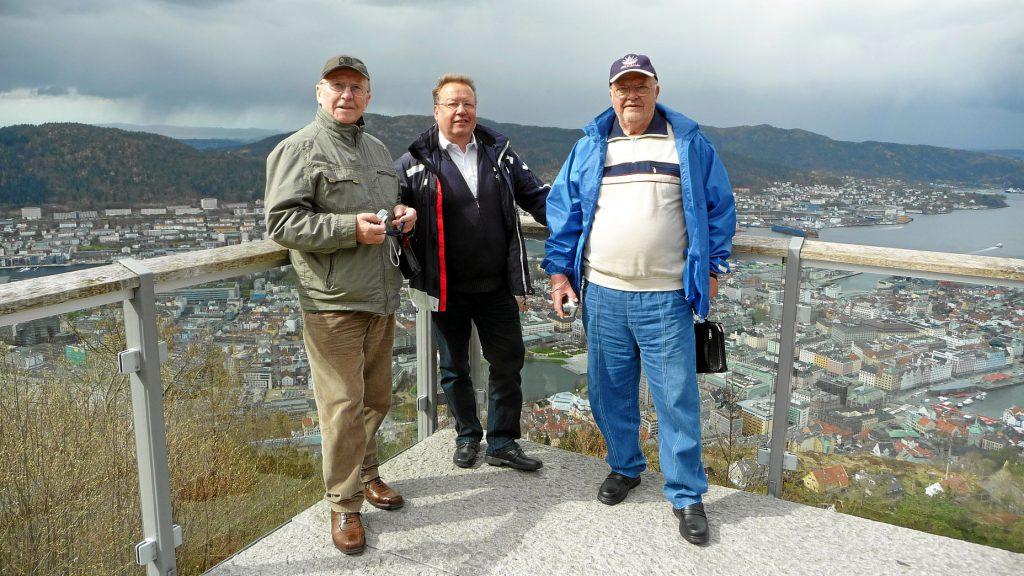 Der Balkon von Bergen